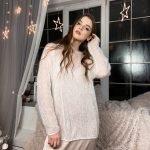 Платье -комбинация белое с декольте качели
