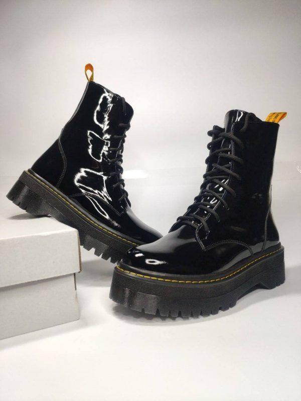 Осенние ботинки типа мартинсы женские купить